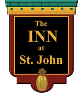 The Inn at St. John Portland hotel logo.
