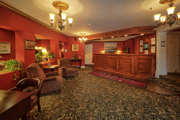 Main check-in gallery for Inn at St. John.