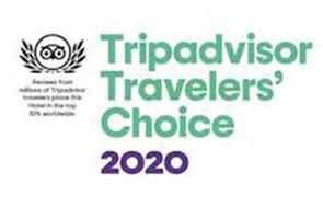 Trip Advisor logo.